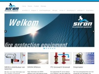 Siron.eu - SIRON Fire Protection is THE supplier of products sprinkler & foam system