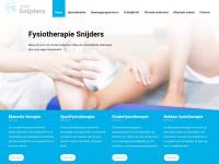 Fysiotherapie-snijders.nl - De fysiotherapeut voor Stein, Elsloo, Beek | Fysiotherapie Snijders