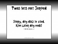 twasietsmetjeroen.nl