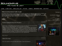 Soundwave.nl - Welkom | Soundwave Audio-Visual rentals & services