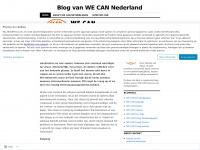 Blog van WE CAN Nederland