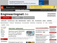 Engineeringnet.be: Belgisch real-time nieuwsleverancier (index2.asp)