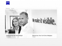 Zeiss.be - Language Selection