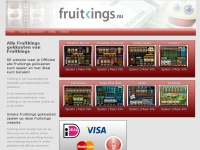 Officiele Fruitkings gokkasten site met iDeal betalen