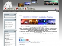 Be Special, be a Pro. Official Magic Fx dealer - Xtreme Party Effects