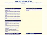 Evaluatie.nu - Nedcomp Hosting