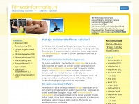 fitnessinformatie.be