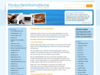 producteninformatie.be