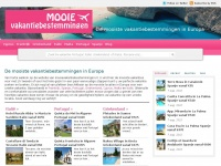 Mooie vakantiebestemmingen in Europa voor unieke vakantie