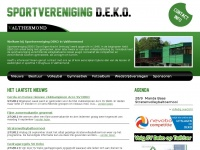 Het laatste nieuws - Sportvereniging DEKO in Valthermond