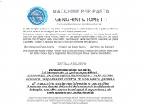 Genghini.net - Macchine per pasta fresca: Nuove Usate e in Affitto - I&G