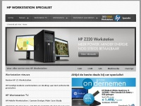 HP Workstation - Voor toonaangevende professionals