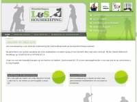 Ls-housekeeping.be - Poetsvrouw gezocht? - L&S Housekeeping
