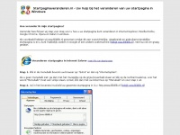 Startpagina veranderen in Internet Explorer - Firefox - Google Chrome - Opera - Safari