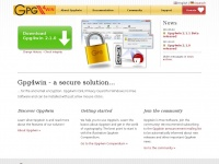 Gpg4win.org - Gpg4win - Secure email and file encryption with GnuPG for Windows
