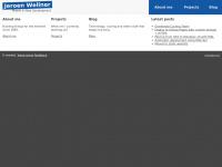 Wllnr.nl - Home : Jeroen Wellner