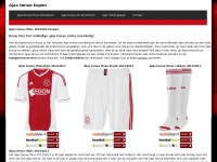 Ajax Tenue en Trainingspak 2016/2017 - adidas | Ajaxtenue.nl