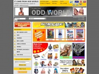 Oddworld.fr - It Came From Odd World. Cadeaux internationaux, jouets et articles collectionneurs