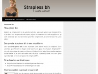 Strapless bh- jouw fashion musthave deze zomer