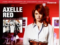 Accueil - Axelle Red