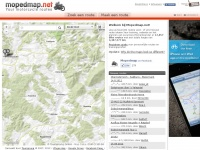 Mopedmap - Your motorcycle routes online