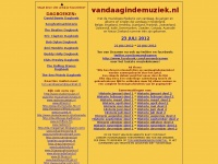 Vandaagindemuziek.nl - Muziekgeschiedenis - This Day In Music - Day To