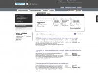 De vacaturesite voor ICT beheerders!