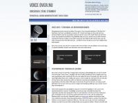 Voice Over Voiceover Reclame Stem Acteur