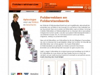 Folderrekken.be - Folderrek of folderstandaard in Belgie bestellen? Opvouwbare en Uitklapbare Folderstandaards