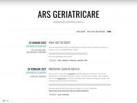 Ars GeriatriCare | Verpleegkunde, ouderenzorg en meer…