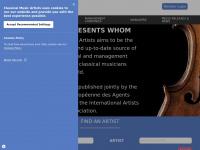 classicalmusicartists.com