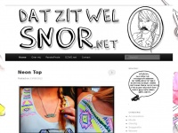 Dat Zit Wel Snor - Renate's DIY Blog (Do it yourself)