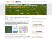Platform Storm - stop windpark De Drentse Monden!