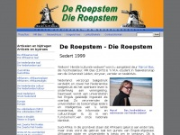 Roepstem.net - De Roepstem / Die Roepstem | Hoofdbladzijde / Hoofbladsy