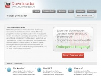Ytdownloader.nl - YouTube Downloader - Download YouTube video's met YTDownloader!