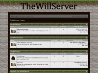 Thewillserver.nl - TheWillServer Forums