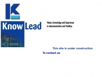 Knowlead.nl - Knowlead • Vision, Knowledge and Experience in Instrumentation and Fieldbusses