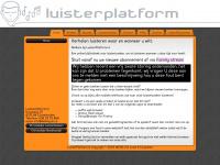 Luisterplatform: Luisterboeken online te beluisteren : Home Pagina