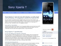 Sonyxperia-t.nl - Sony Xperia T - Prijzen, specificaties, aanbiedingen en foto's en video's van de Sony Xperia T
