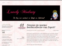 Lovely Modesty | Dé blog voor lovely ladies!