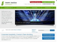 Teamtactics.co.uk - Team Building & Corporate Hospitality Experts | Team Tactics