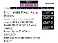 Highyieldaccount.co.uk - Fixed Rate Bonds | Vanquis High Yield Investment Bonds | Saving Bonds