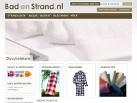 Bad en Strand | Strandlakens & Badlinnen | Badgoed online bestellen bij Badenstrand.nl