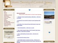 Iscj.org - Islamic Society of Central Jersey