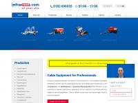 Infrarent: Verhuur machines en apparatuur kabel-infrastructuur