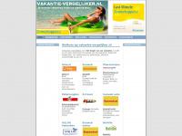 Vakantie-vergelijker.nl is de site om simpel en binnen enkele minuten de vakantie te vinden die volledig aan uw wensen voldoet.