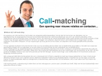 call-matching.nl