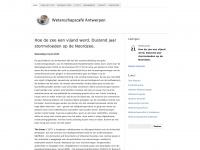 Wetenschapscafé Antwerpen