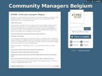 Cmbe.be - Community Managers Belgium