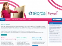 Akorda Payroll Onderwijs   Akorda Onderwijsdienstverlening